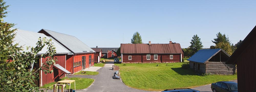 The 200-year-old house of the Sutela family in Liminka (photo: Ilpo Okkonen)