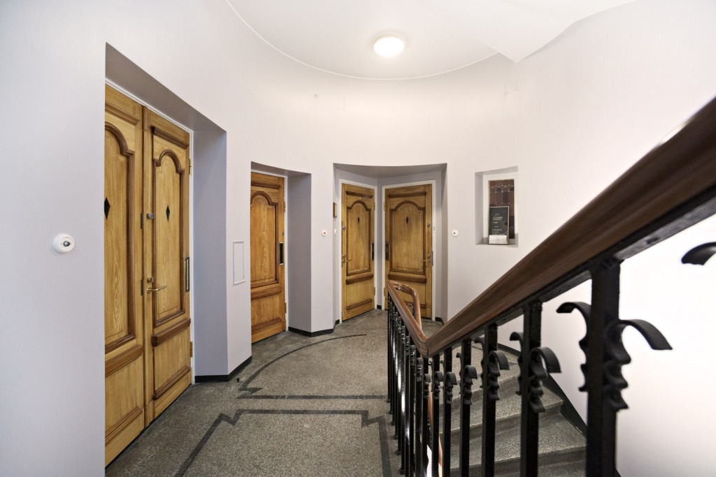 Interior doors of the old pharmacy building, Oulu