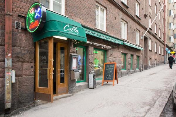 Ravintola Cella, Fleminginkatu 15, Helsinki