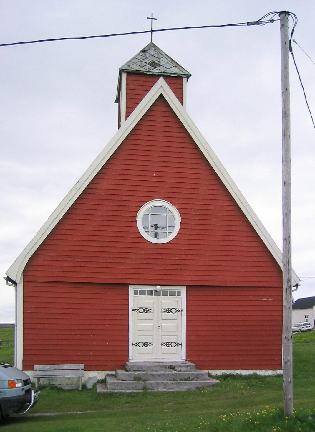 Hamninbergin kirkko - Sutela