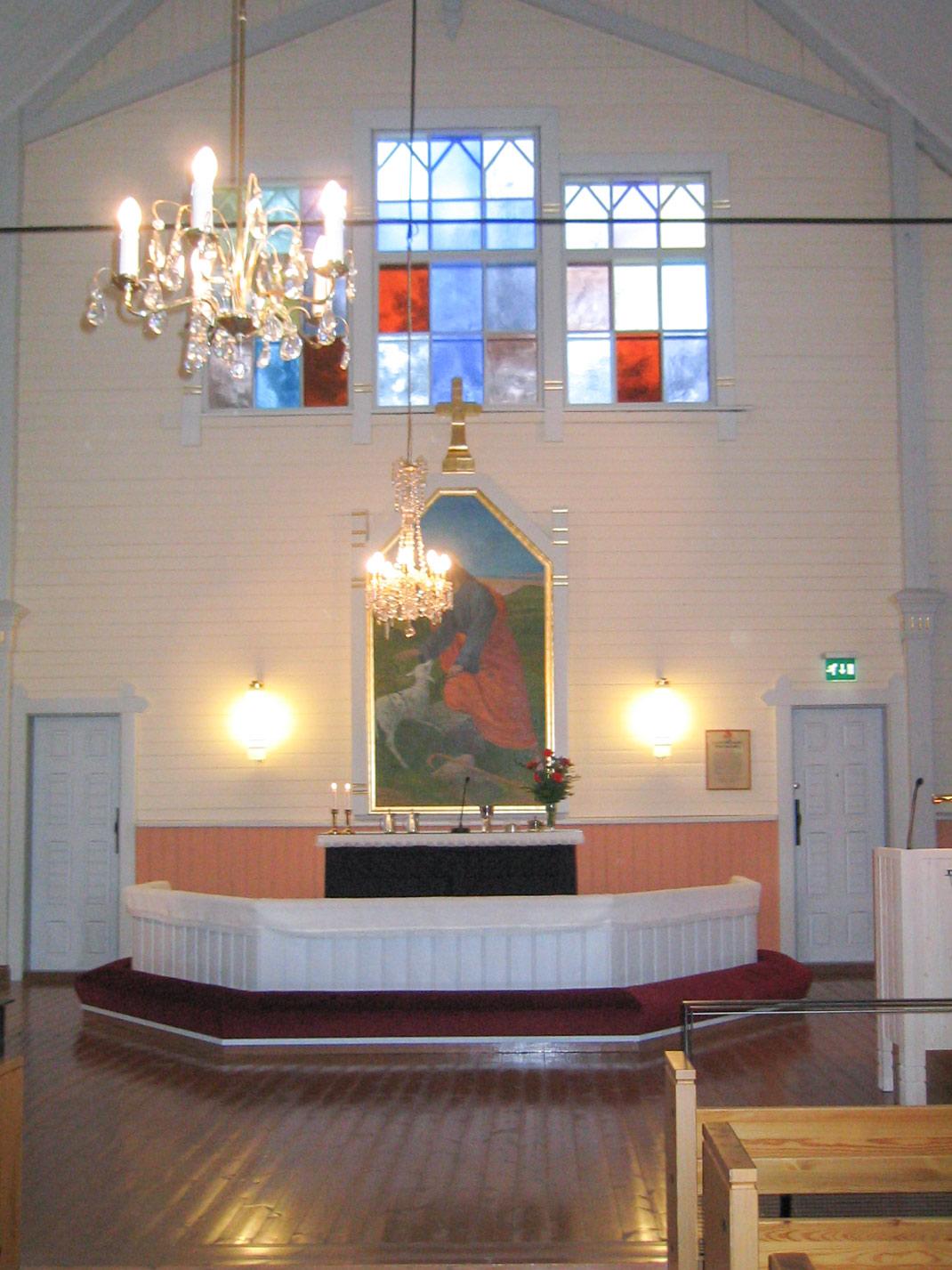 Pyhännän kirkon sisäovet - Sutela