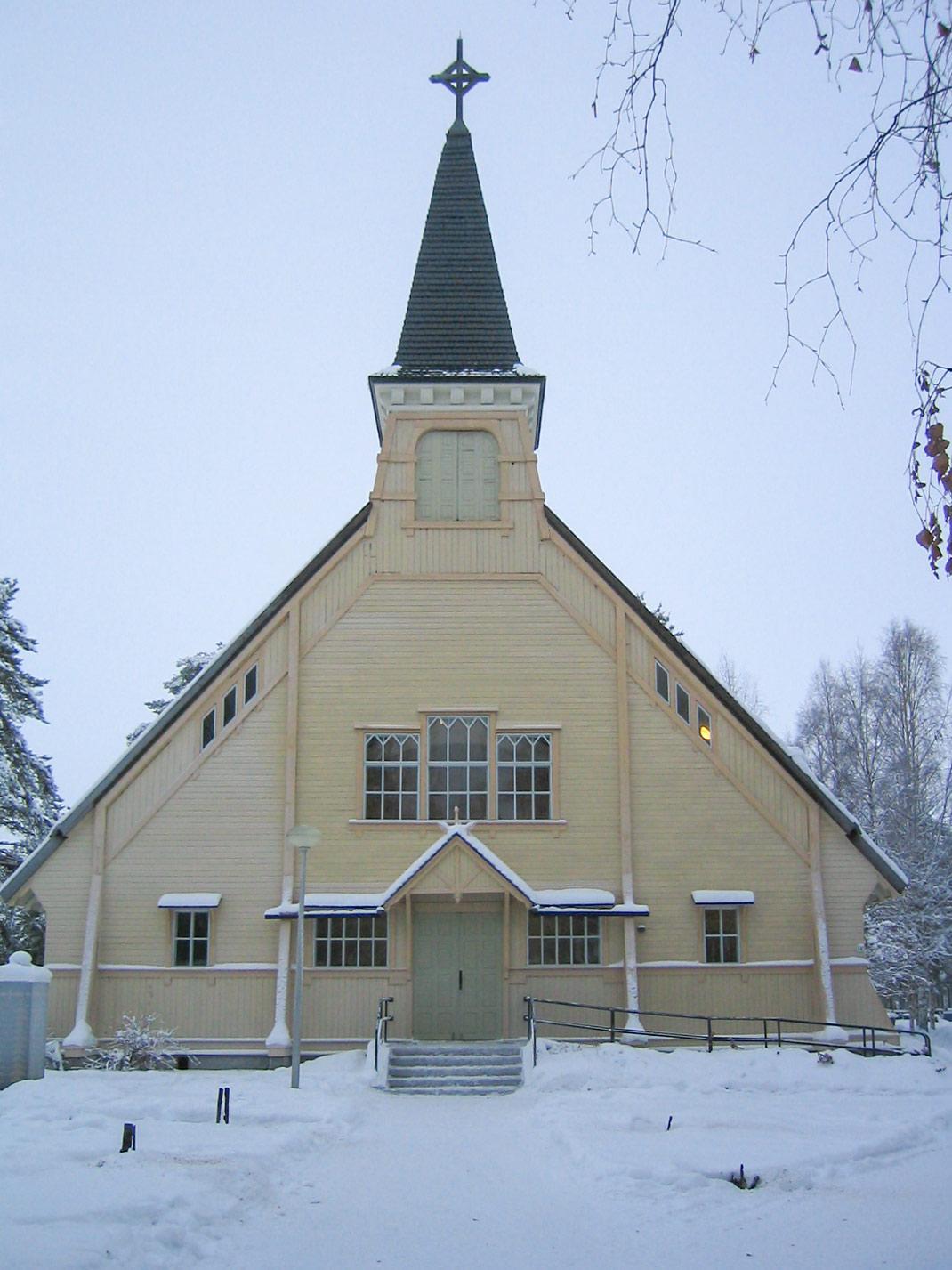Pyhännän kirkon ovet - Sutela